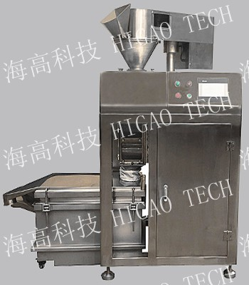 Double roller compaction granulating machine