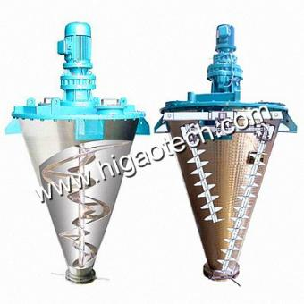 double screw cone mixer factory